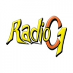 Logo da emissora Radio C1 93.7 FM