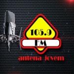 Logo da emissora Rádio Antena Jovem