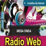 Logo da emissora Mega Onda Rádio Web