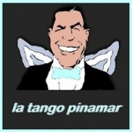 Logo da emissora Radio La Tango Pinamar 98.5 FM