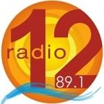 Logo da emissora Radio 12 89.1 FM
