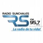 Logo da emissora Radio Sunchales 95.7 FM