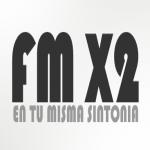 Logo da emissora Radio X2 102.5 FM