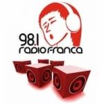Logo da emissora Radio Franca 98.1 FM