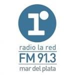 Logo da emissora Radio La Red 91.3 FM