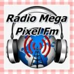 Logo da emissora Rádio Mega Pixel FM