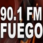 Logo da emissora Radio Fuego 90.1 FM