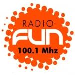 Logo da emissora Radio Fun 100.1 FM