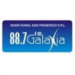 Logo da emissora Radio Galaxia 88.7 FM