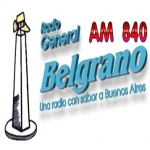 Logo da emissora Radio General Belgrano 840 AM