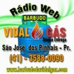 Logo da emissora Rádio Barbudo da Vidal Gás