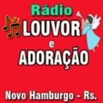 Logo da emissora Rádio Louvor e Adoração