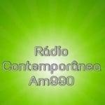 Logo da emissora Rádio Contemporânea 990 AM