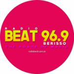 Logo da emissora Radio Beat 96.9 FM