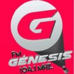 Logo da emissora Radio Génesis 104.1 FM