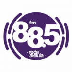 Logo da emissora Rádio Aleluia 88.5 FM