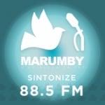 Logo da emissora Rádio Marumby 88.5 FM