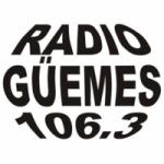 Logo da emissora Radio Güemes 106.3 FM