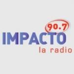Logo da emissora Radio Impacto 90.7 FM