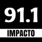 Logo da emissora Radio Impacto 91.1 FM