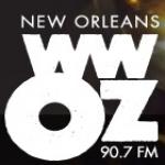 Logo da emissora Radio WWOZ 90.7 FM