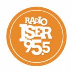 Logo da emissora Radio ISER 95.5 FM