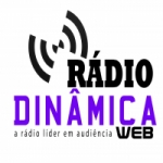 Logo da emissora Rádio Dinâmica Web