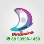 Logo da emissora Rádio Dinâmica