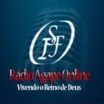 Logo da emissora Rádio Ágape Online