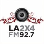 Logo da emissora Radio La 2x4 92.7 FM