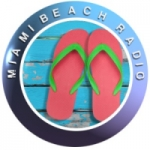 Logo da emissora Miami Beach Radio