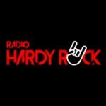 Logo da emissora Rádio Hardy Rock