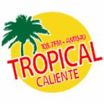 Logo da emissora Radio KGLA Tropical Caliente 105.7 FM 1540 AM