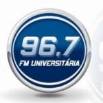 Logo da emissora Rádio Universitária UFPI 96.7 FM
