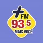 Logo da emissora Rádio Mais 93.5 FM