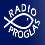 Logo da emissora Proglas 107.5 FM