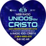 Logo da emissora Web Rádio Unidos em Cristo