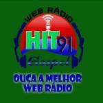 Logo da emissora Rádio Hit 91 Gospel