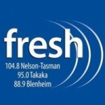 Logo da emissora Radio Fresh 95.4 FM
