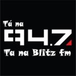 Logo da emissora Rádio Blitz  FM