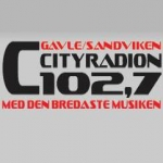 Logo da emissora Cityradion 102.7 FM