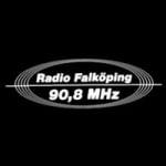 Logo da emissora Falkoping 90.8 FM