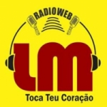 Logo da emissora LM Rádio Web