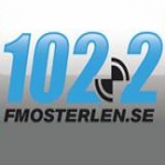 Logo da emissora FM Osterlen 102.2 FM