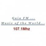 Logo da emissora Radio Gaia 107.1 FM