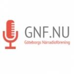 Logo da emissora Goteborgs Narradio Forenings 103.1 FM