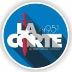 Logo da emissora Radio La Corte 94.7 FM
