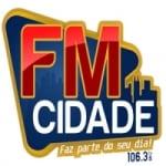 Logo da emissora Rádio FM Cidade 106.3