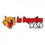 Logo da emissora Radio La Deportiva 96.9 FM