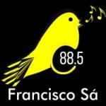 Logo da emissora Rádio Canarinho 88.5 FM